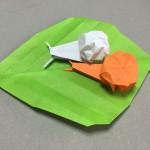 折り紙のかたつむりの折り方!簡単から立体まで色々集めました