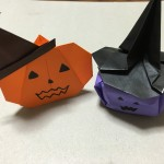ハロウィンかぼちゃを折り紙で作ろう!簡単な物と立体の折り方